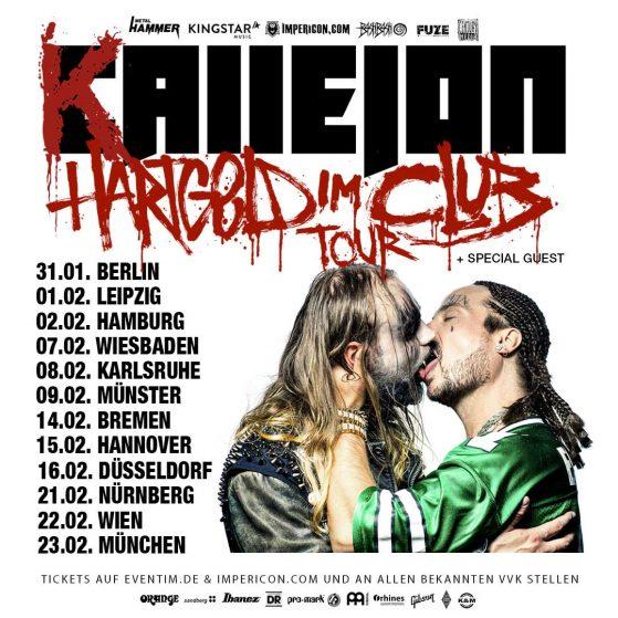 Hartgeld im Club Tour 2019